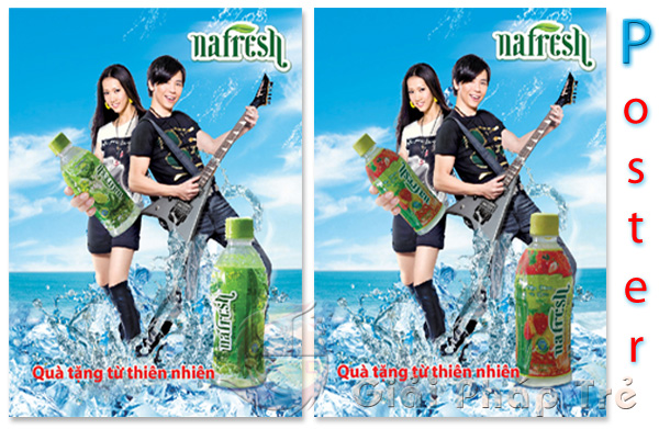thiết kế poster